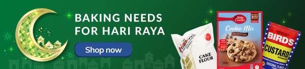 Baking needs for hari raya