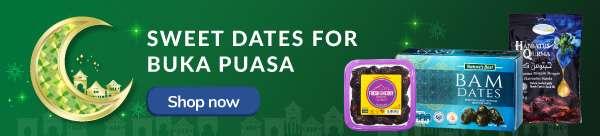 Sweet dates for BUKA PUASA
