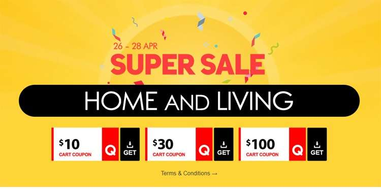 10c4edb6434 [Qoo10] 3 DAYS HOME & LIVING SUPER SALES up to 70%! Mystery value box,  Amazing Deals that we specially picked for you!! - 👑BQ.sg BargainQueen