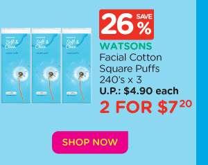 Facial Cotton Puffs