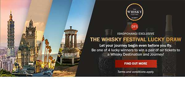 The Whisky Festival Lucky Draw