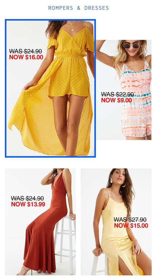 Rompers & Dresses