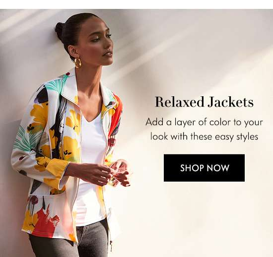 Shop Relaxed Jackets