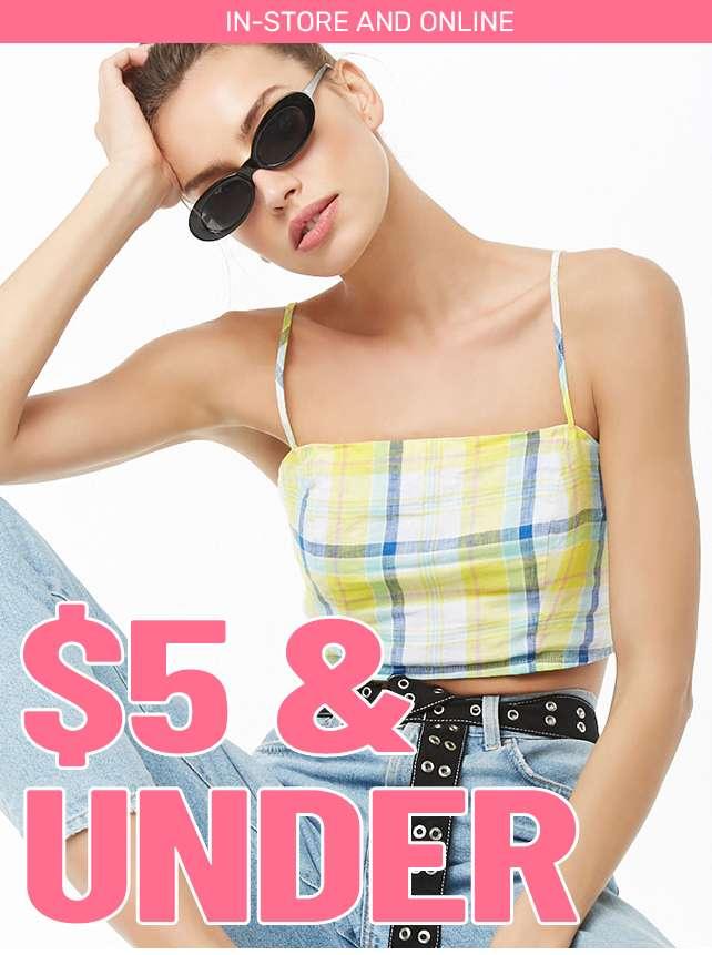 $5 & Under