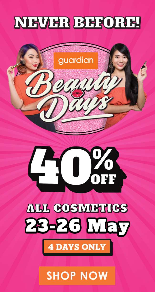 Never before 40% off ALL Cosmetics!