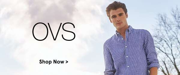 New on ZALORA: OVS