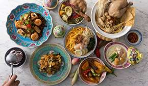Straits Café @ Rendezvous Hotel Singapore - 15% OFF Lunch and Dinner Buffet with Mastercard!