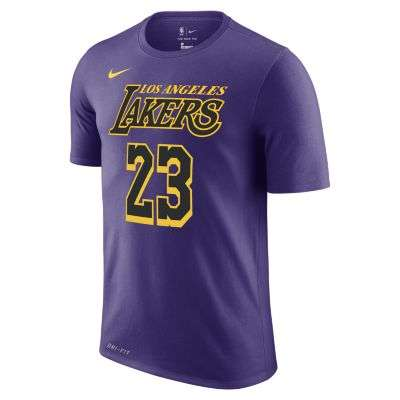 LeBron James Los Angeles Lakers City Edition Nike Dri-FIT