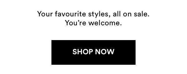 Sale. Shop Now.