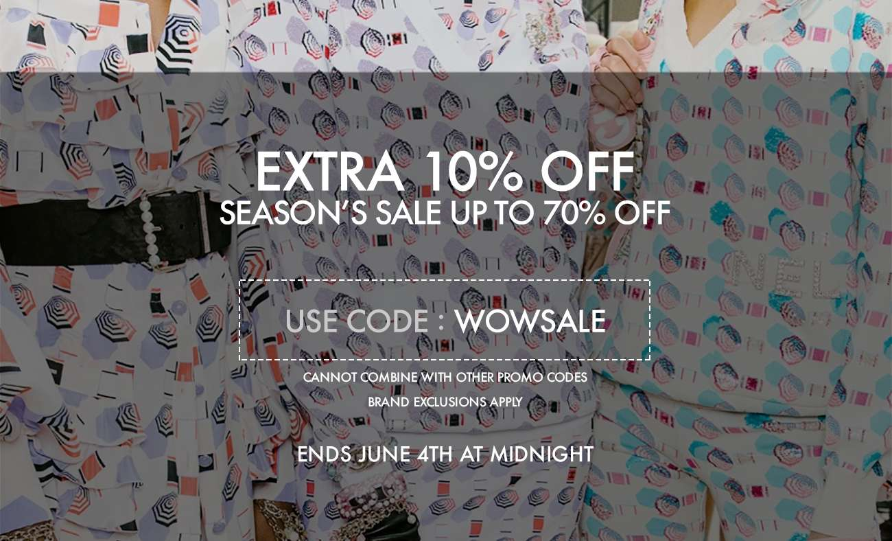 SEASON'S SALE UP TO 70% OFF