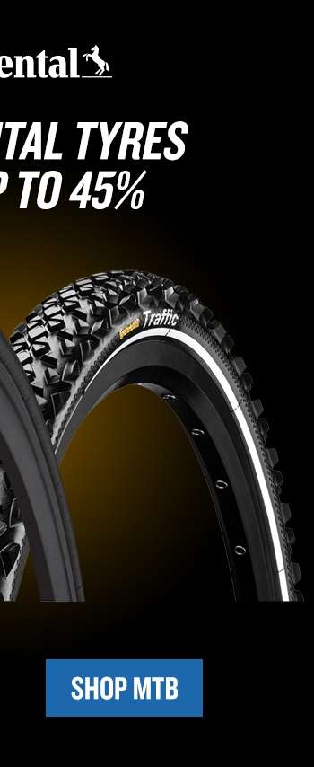 save up to 45% on continental mtb tyres