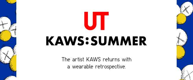 The artist KAWS returns with a wearable retrospective.