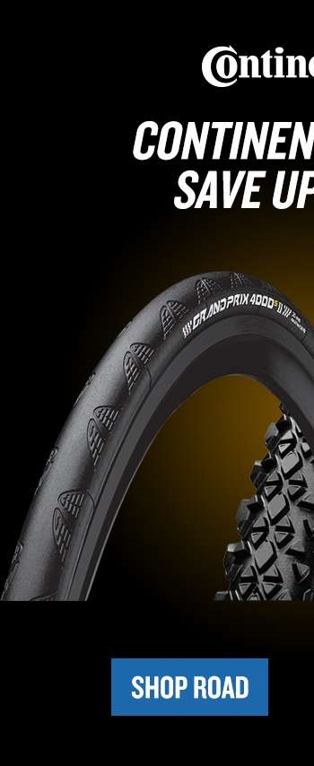 save up to 45% on continental road tyres