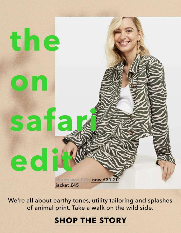 The on safari edit - Shop the story