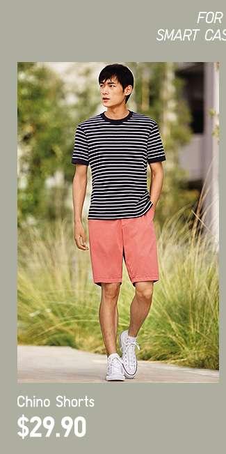 Chino Shorts at $19.90