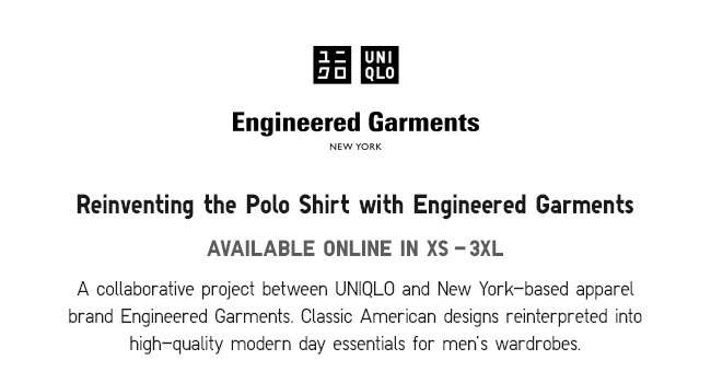 Reinventing the Polo Shirt with Engineered Garments