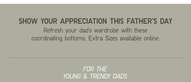 Show your appreciation this Father's Day