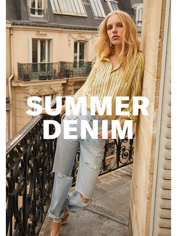 How jeans (& more) lighten up for warm weather.