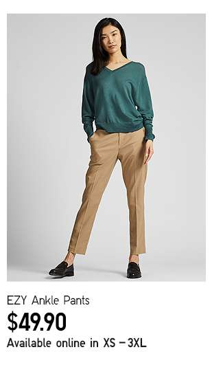 EZY Ankle Pants at $29.90
