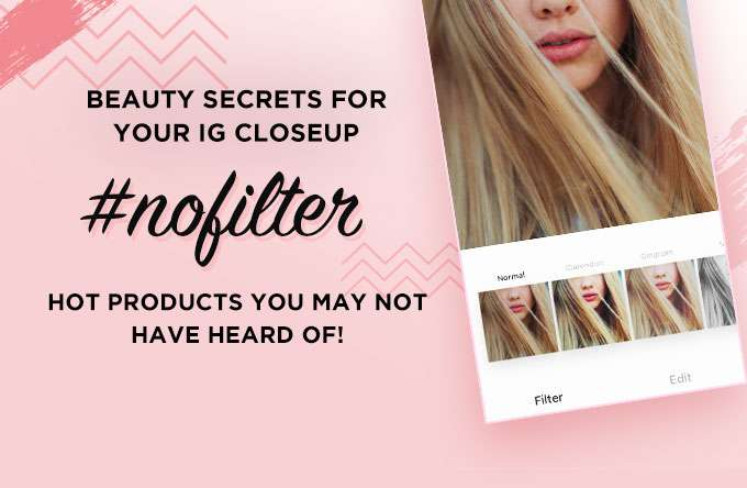 Beauty Secrets For Your IG #nofilter Closeup