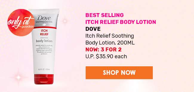 Best Selling Itch Relief Body Lotion - Dove Itch Relief Soothing Body Lotion, 200ml