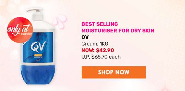 Best Selling Moisturiser for Dry Skin - QV Cream 1KG