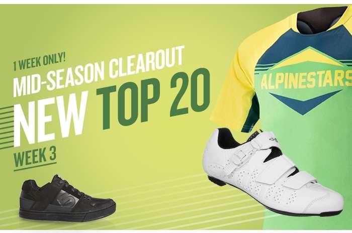 Mid-season clearout Top 20 week 3