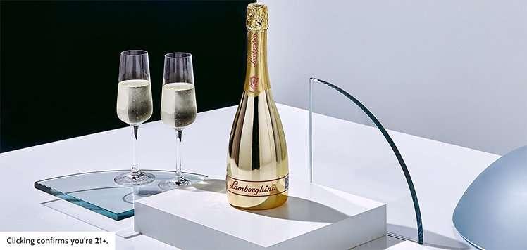 Lamborghini Wines Italian Prosecco Gold