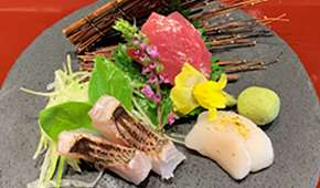 Dashi Kaiseki Mai - 1-for-1 Sashimi (Assorted 3) at $42++