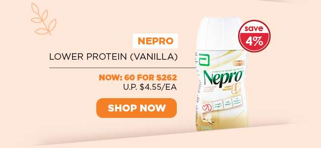 Nepro Lower Protein (Vanilla)   Now: 60 for $262