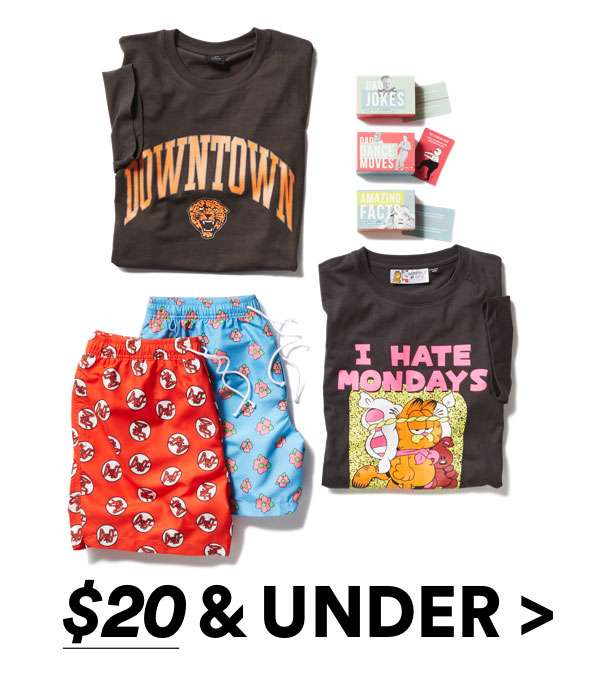Gifts $20 & Under | Shop Now