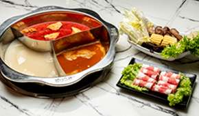 Hai Xian Lao: 1-for-1 Lunch Set at $15.80++ each (excludes soup bases)