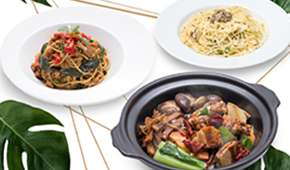 Green Ba (Triple One) - 1-for-1 Claypot or Pasta from $10.90++