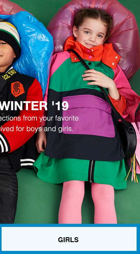 The newest looks for boys & girls