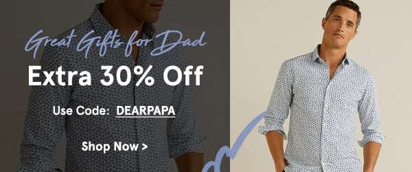 Gifts For Dad: Extra 30% Off