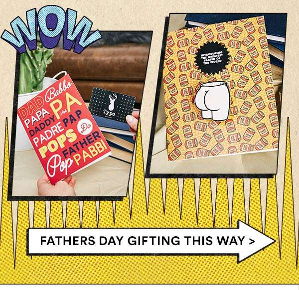 Shop Father's Day before it's too late!