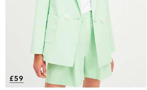 Green 2 Piece Suit