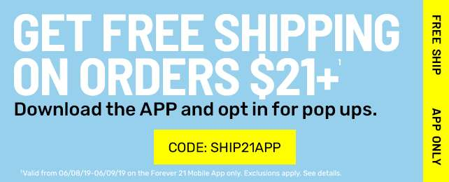 Code: SHIP21APP