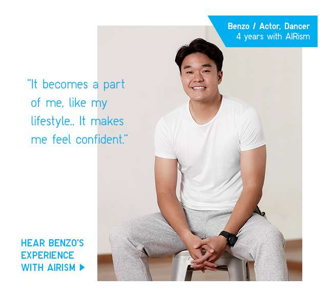 Hear Benzo's experience with AIRism