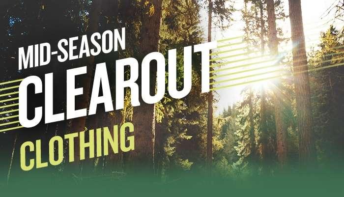 Mid season clothing sale - shop by brand
