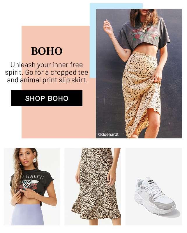 Shop Boho