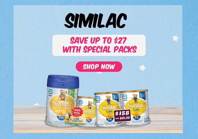 Similac | Save up to $27 with Special Packs