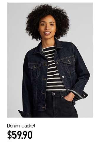 Denim Jacket at $59.90