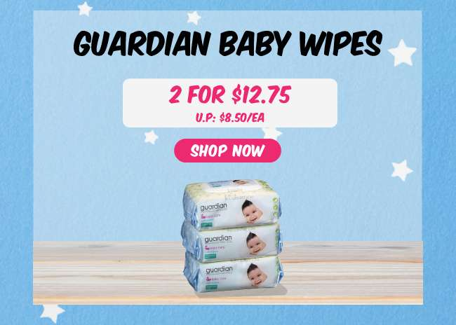 Guardian Baby Wipes | 2 for $12.75