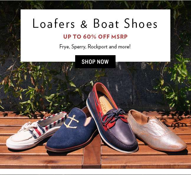 Shop Loafers & Boats Shoes