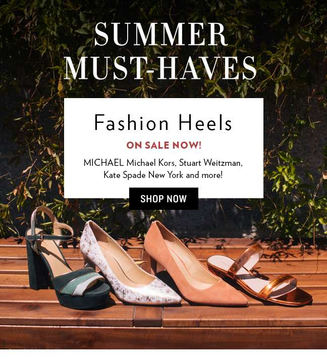 Shop Fashion Heels