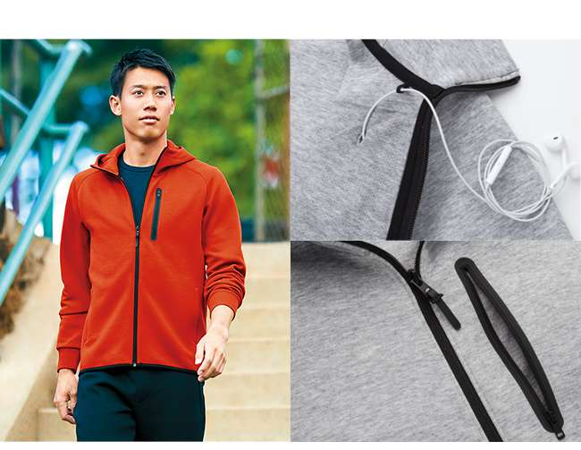 Men's Dry Stretch Sweat Full-Zip Hoodie at $39.90