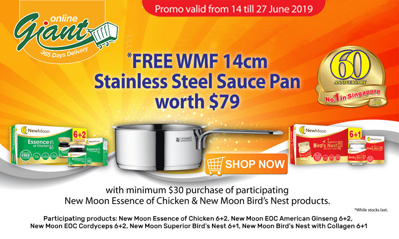 New Moon: FREE WMF 14cm Stainless Steel Sauce Pan worth $79
