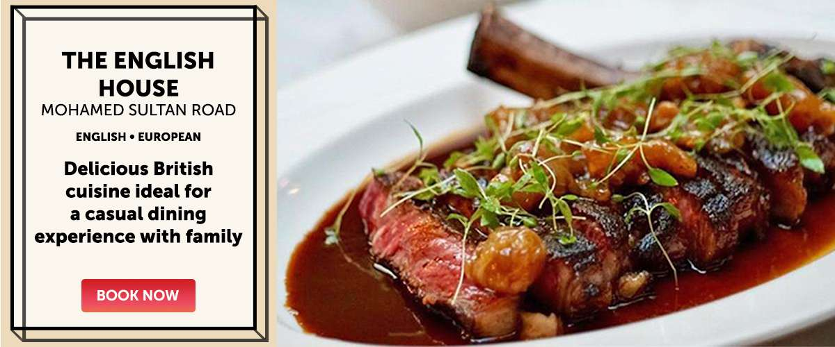 The English House - Delicious British cuisine ideal for a casual dining experience with family