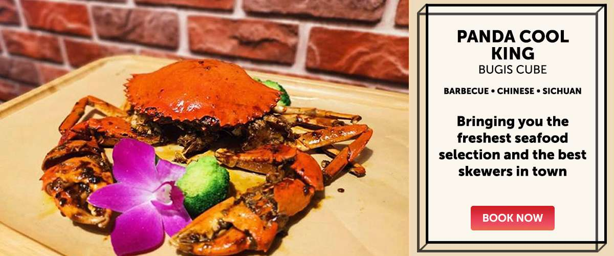 Panda Cool King - Bringing you the freshest seafood selection and the best skewers in town